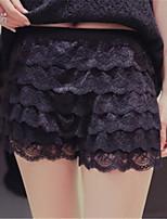 preiswerte -Damen Grundlegend Legging - Solide Mittlere Taillenlinie