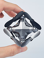 baratos -RC Drone DH800 RTF 4CH 6 Eixos 2.4G Com Câmera HD 0.3 mega pixels 720p Quadcópero com CR Retorno Com 1 Botão / Modo Espelho Inteligente / Vôo Invertido 360° Quadcóptero RC / Controle Remoto / Câmera