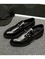 cheap -Men's Shoes PU(Polyurethane) Fall Comfort Loafers & Slip-Ons Black