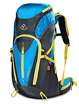 cheap -50 L Rucksack - Wearable, Breathability Outdoor Hiking, Camping, Travel Mineral Green, Green, Blue