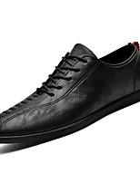 cheap -Men's PU(Polyurethane) Spring Comfort Oxfords Black / Brown