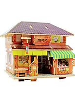 cheap -Wooden Puzzle / Logic & Puzzle Toy Famous buildings School / Professional Level / Stress and Anxiety Relief Wooden 1 pcs Kid's / Teen All Gift