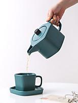 Недорогие -Drinkware Фарфор Чайные чашки / Кубок и блюдце / Водный горшок и чайник Теплоизолированные 3 pcs