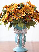 Недорогие -Искусственные Цветы 1 Филиал Классический Винтаж / европейский Подсолнухи Букеты на стол