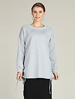 cheap -Women's Active / Basic Pullover - Solid Colored
