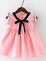 Недорогие -малыш Девочки Пэчворк Без рукавов Платье