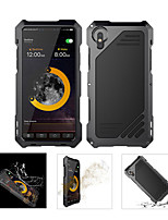 cheap -Case For Apple iPhone X Waterproof / Shockproof Full Body Cases Armor Hard Metal for iPhone X / iPhone 8 Plus / iPhone 8