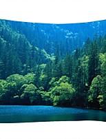 Недорогие -Пейзаж / Семья Декор стены 100% полиэстер Современный Предметы искусства, Стена Гобелены Украшение