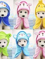 abordables -Portable / Lavable Vêtements pour chiens Nettoyage Couleur Pleine / Créatif / Mode Vert Kaki / Bleu Clair / Rosé Rongeurs / Chiens / Chats