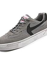 Недорогие -Муж. Полотно Лето Удобная обувь Кеды Черный / Серый / Хаки