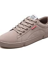 cheap -Men's Suede Fall Comfort Sneakers Black / Dark Grey / Khaki