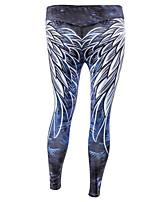 abordables -Mujer Básico Legging - Geométrico, Estampado Media cintura