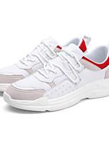 Недорогие -Муж. Сетка Лето Удобная обувь Кеды Белый / Черный / Серый