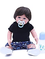 cheap -OtardDolls Reborn Doll Baby Girl 18 inch lifelike, Artificial Implantation Blue Eyes, Tipped and Sealed Nails Kid's Girls' Gift