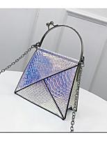 cheap -Women's Bags PU(Polyurethane) Shoulder Bag Zipper Gold / Silver / Blushing Pink