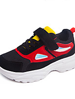 cheap -Girls' Shoes Mesh Fall & Winter Comfort Sneakers Basketball Shoes Hook & Loop for Kids White / Black / Pink