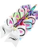 abordables -élastiques Accessoires pour cheveux Gros-grain Perruques Accessoires Fille 4pcs pcs 18 cm cm Usage quotidien Coiffures Adorable