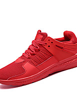 cheap -Men's Synthetics Summer Comfort Sneakers White / Black / Red