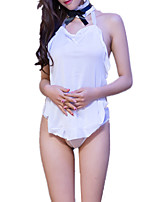 cheap -Women's Suits Nightwear - Mesh, Color Block