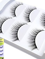 cheap -lash False Eyelashes Portable Makeup 1 pcs Eye Professional / High Quality Event / Party / Daily Wear Daily Makeup / Halloween Makeup / Party Makeup Natural Curly Cosmetic Grooming Supplies