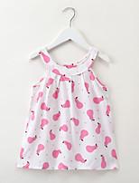 cheap -Kids / Toddler Girls' Cartoon / Fruit Sleeveless Dress