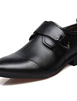 Недорогие -Муж. Полиуретан Осень Удобная обувь Туфли на шнуровке Белый / Черный / Коричневый