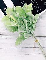 abordables -Fleurs artificielles 1 Une succursale Classique Elégant Plantes Fleur de Table