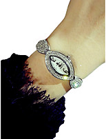 cheap -Women's Wrist Watch Chronograph / Luminous / Lovely Alloy Band Sparkle / Elegant Silver / Gold
