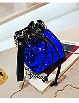 cheap -Women's Bags Synthetic Shoulder Bag Solid Green / Black / Fuchsia