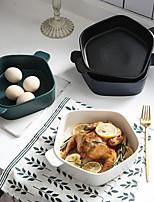 cheap -1 pc Porcelain / Ceramic New Design / Heatproof / Creative Dining Bowl / Dinner Plate / Serving Dishes, Dinnerware