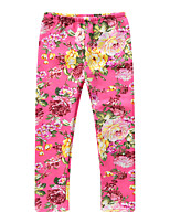 cheap -Kids / Toddler Girls' Floral / Jacquard Pants