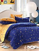 preiswerte -Bettbezug-Sets Geometrisch Baumwolle Jacquard / Polyester Reaktivdruck 3 Stück