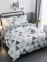 cheap -Duvet Cover Sets Geometric Polyster Applique 3 Piece