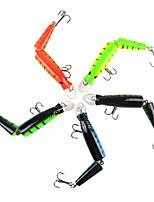 cheap -1 pcs pcs Hard Bait / Fishing Lures / Fishing Accessories Set Hard Bait Metal Easy to Carry / Light Weight Sea Fishing / Bait Casting / Freshwater Fishing