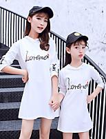 abordables -Mami y yo Letra Manga Corta Camiseta