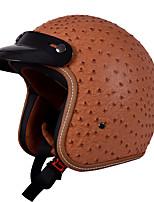 economico -SENHU SH-181 Mezzo casco Adulto Unisex Casco del motociclo Antinebbia / Solidità / Resistente agli urti