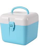 Недорогие -Коробка для хранения пластик Обычные Дорожная сумка 1 коробка для хранения Сумки для хранения домашних хозяйств