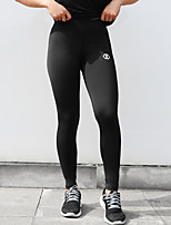 cheap -Women's Sporty Legging - Solid Colored Mid Waist