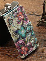 cheap -Case For Huawei Mate 10 pro / Mate 10 lite Card Holder / with Stand / Flip Full Body Cases Flower Hard PU Leather for Mate 10 pro / Mate 10 lite