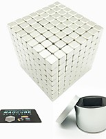 cheap -512 pcs Magnet Toy Magnetic Balls / Magnet Toy / Super Strong Rare-Earth Magnets Magnetic / Square Stress and Anxiety Relief / Office Desk Toys / Relieves ADD, ADHD, Anxiety, Autism Novelty All