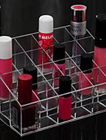 Недорогие -Металл Прямоугольная Милый стиль / Cool Главная организация, 1шт Хранение косметики