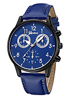 cheap -Geneva Women's Wrist Watch Chinese New Design / Casual Watch / Cool Leather Band Casual / Fashion Black / Blue / Brown