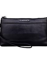 cheap -Men's Bags Polyester Clutch Zipper Black / Brown