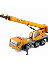cheap -Toy Car Crane Construction Vehicle New Design Metal Alloy Child's Teenager All Boys' Girls' Toy Gift 1 pcs