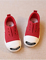 cheap -Boys' / Girls' Shoes Canvas Spring / Fall Comfort Sneakers for Toddler Red / Pink