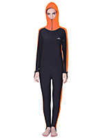 cheap -SBART Women's Dive Skin Suit Quick Dry, Breathable, Comfortable Nylon Long Sleeve Swimwear Beach Wear Diving Suit Diving / Watersports / High Elasticity