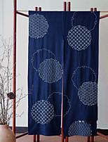 Недорогие -Панель двери Шторы занавески Гостиная Геометрический принт Хлопок / полиэфир С принтом