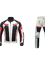 economico -DUHAN 185 Abbigliamento moto Giacche Pants SetforPer uomo Poliestere Estate Resistenti / Resistente agli urti / Traspirante