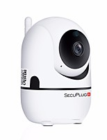 abordables -SecuPlug+ SP09 1 mp IP Camera Intérieur Support64 GB