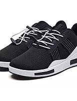 cheap -Men's PU(Polyurethane) Summer Comfort Sneakers Color Block Gray / Black / White / Black / Blue